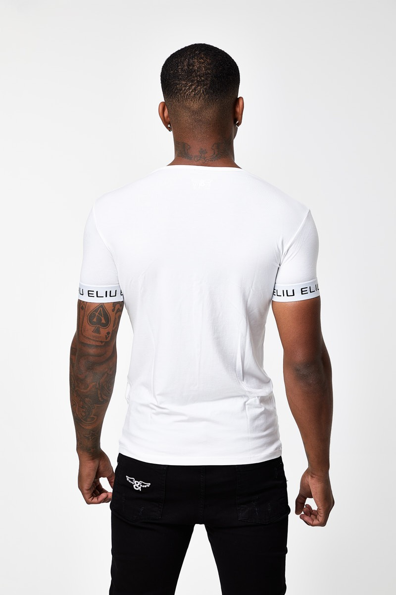 Camiseta Classic Cuello Pico Slim