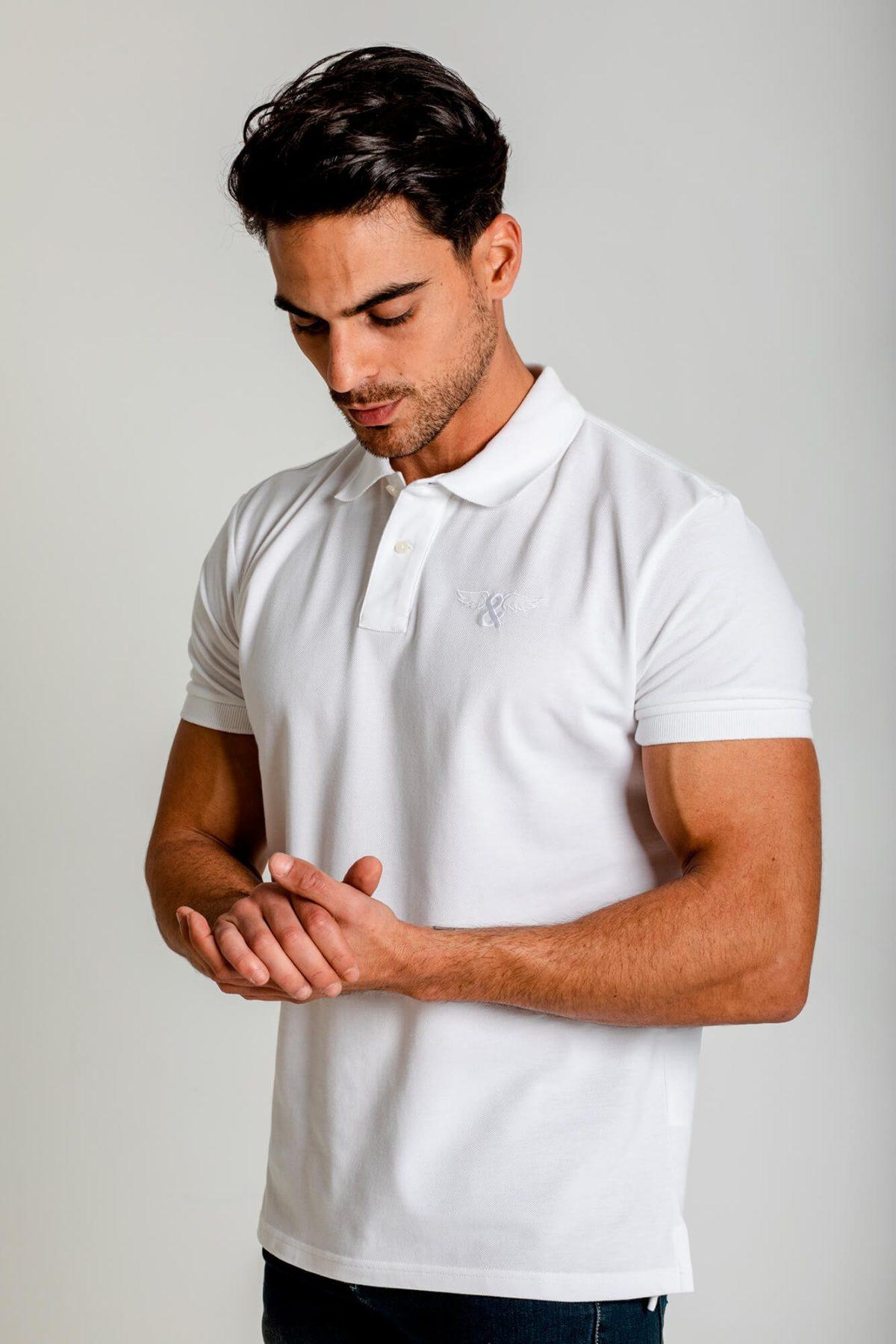 Camiseta polo classic slim fit. 100% Algodón. Estilo urbano ELIU streetwear.