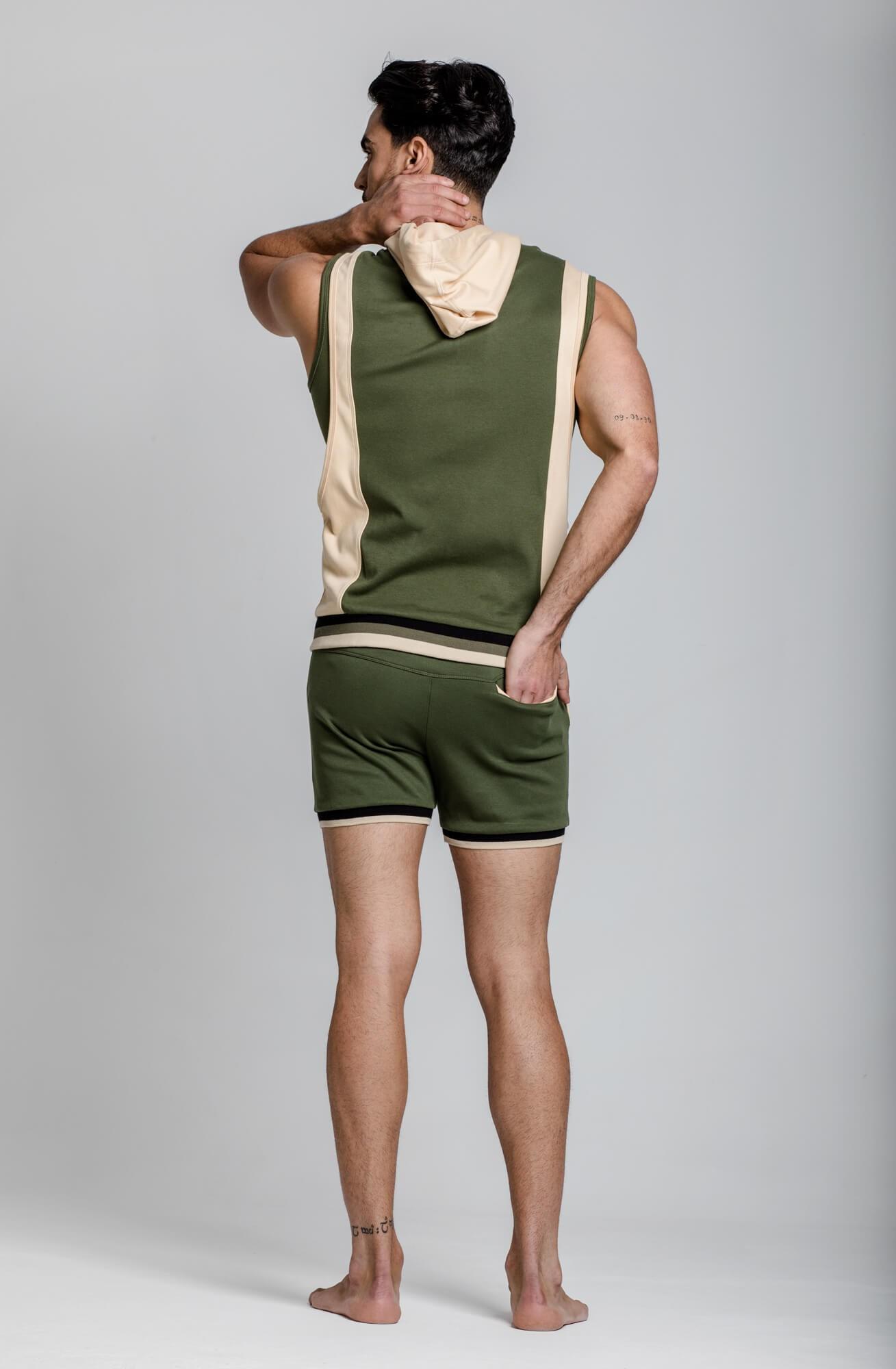 Shorts deportivos para hombre. Ropa deportiva estilo urbano ELIU streetwear.
