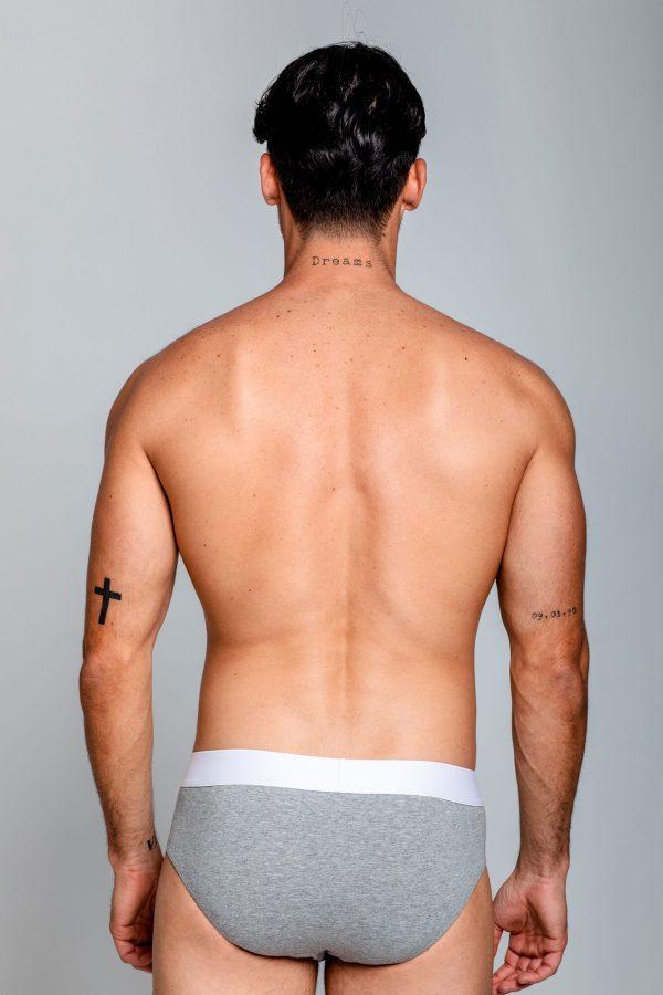 Ropa interior hombre Classic Underwear Brief. Underwear de la marca ELIU streetwear.