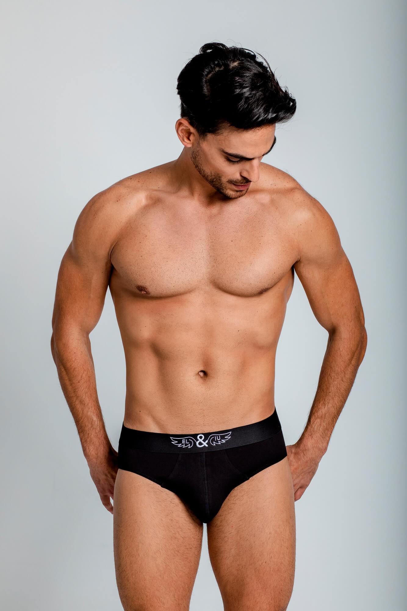 Ropa interior hombre Classic Underwear Brief, gran confort y suavidad con logo ELIU bordado. Calzoncillo. ELIU Underwear