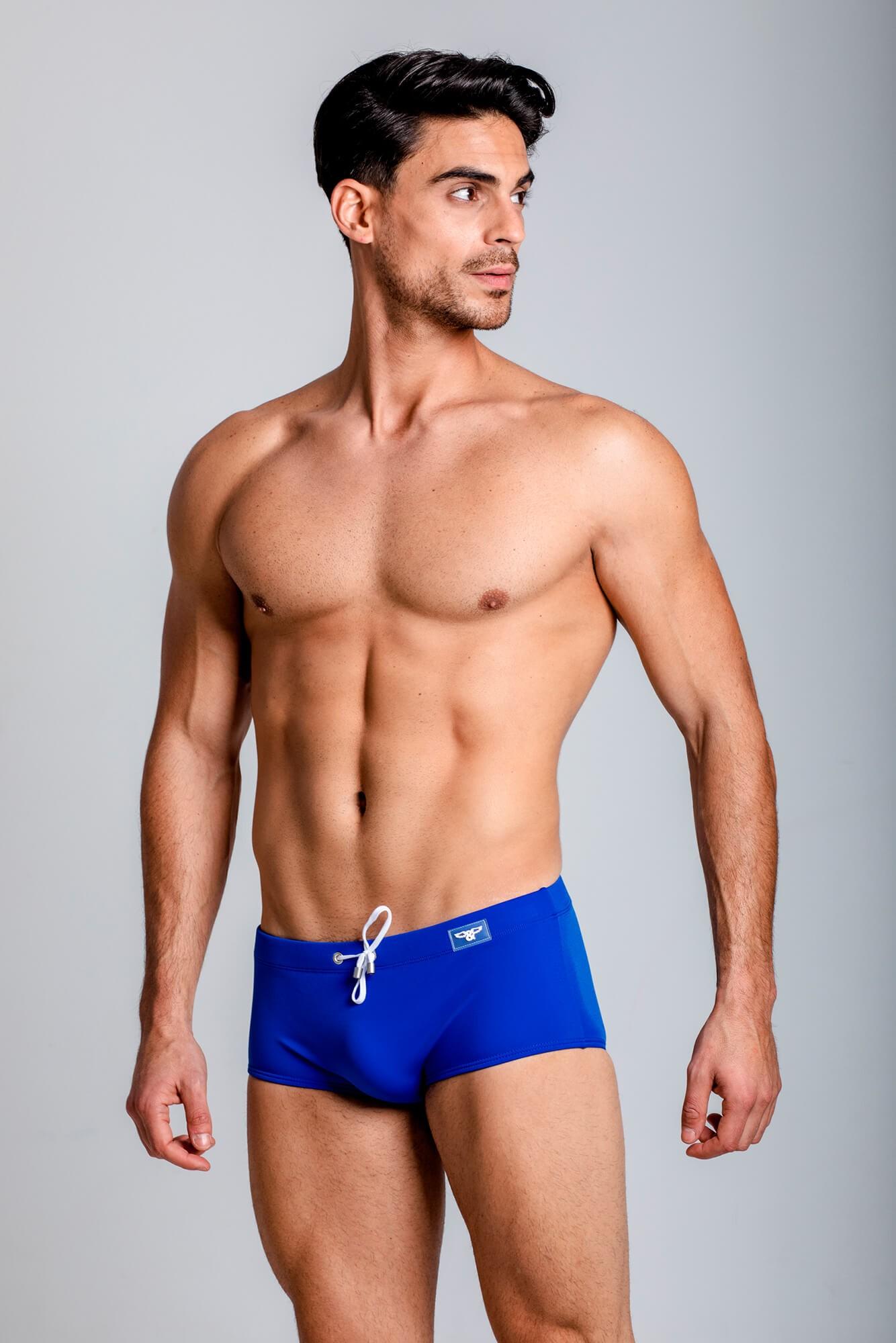 Bañador Classic Swim Mini Boxer,corte ajustado. Estilo urbano de la marca ELIU streetwear.