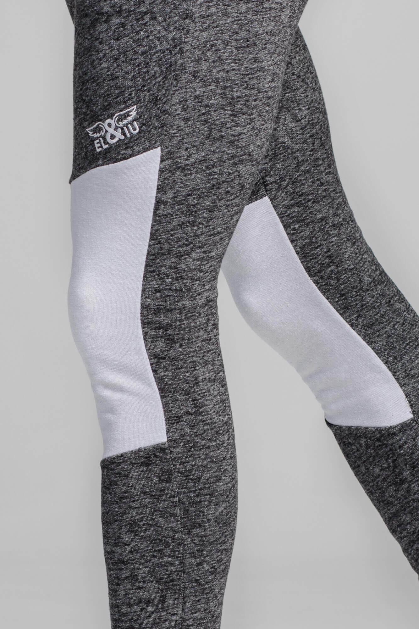 Pantalones deportivos Triangle, slim fit y 100% algodón. Estilo urbano de la marca ELIU, moda casual y urbana.