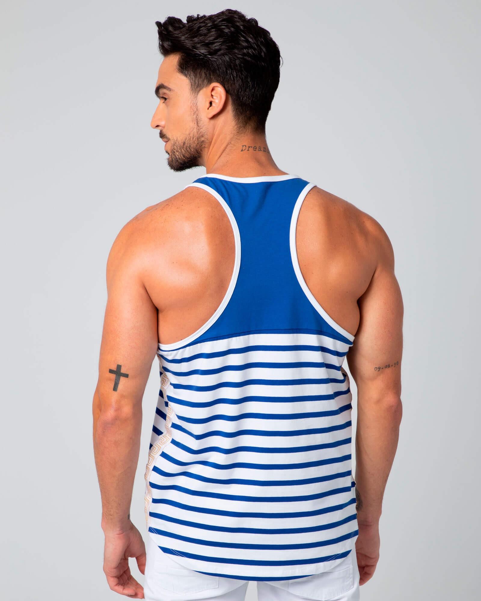 Camiseta sin mangas Greek. Estilo urbano ELIU streetwear.