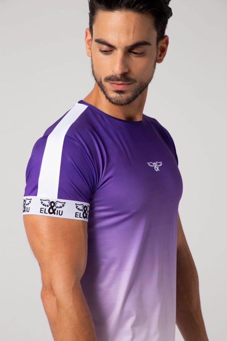 Camiseta gradient slim fit. Estilo urbano ELIU streetwear.