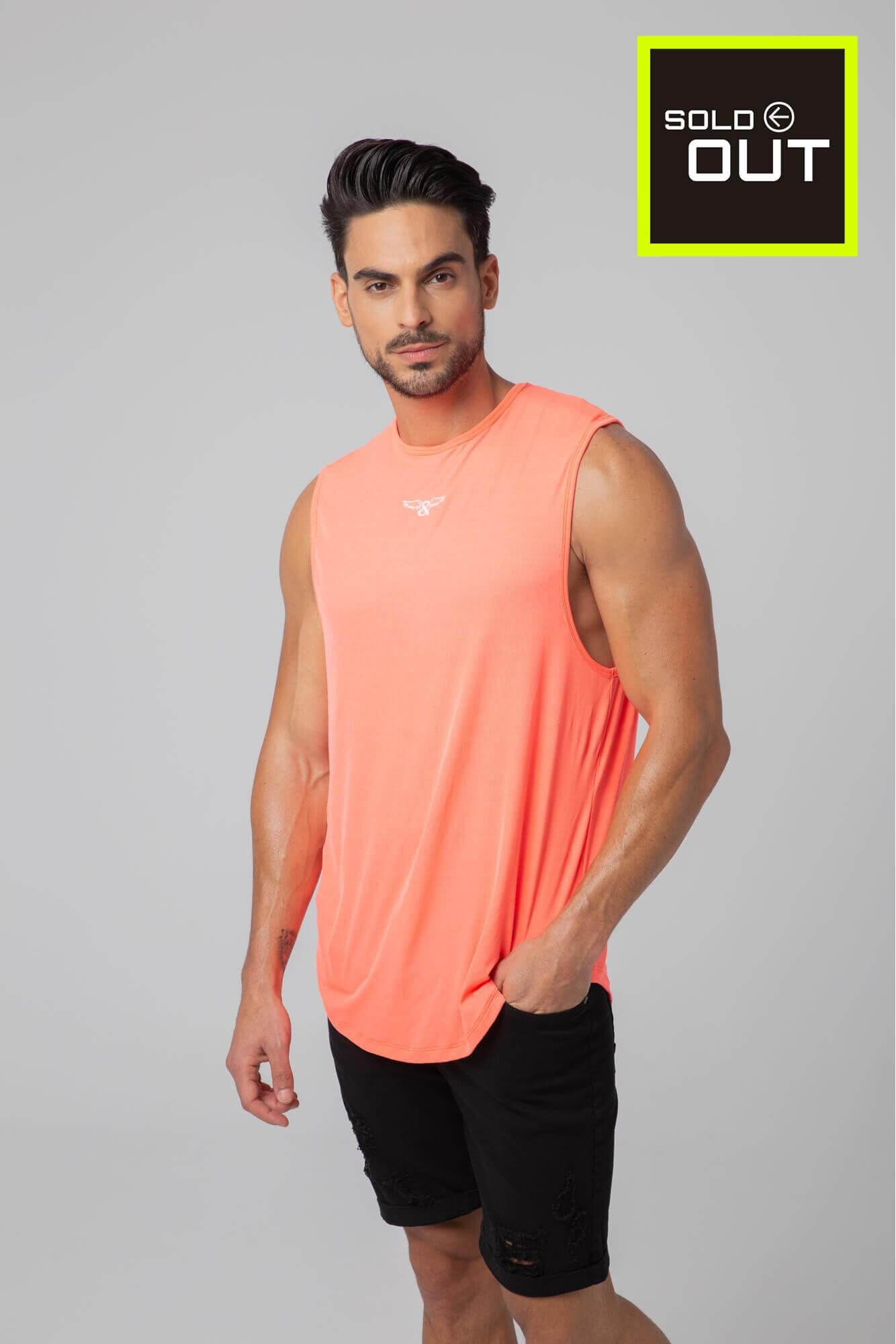 Tank Classique Tricolor de la marque ELIU. Slim Fit. Mode pour hommes de style urbain ELIU streetwear