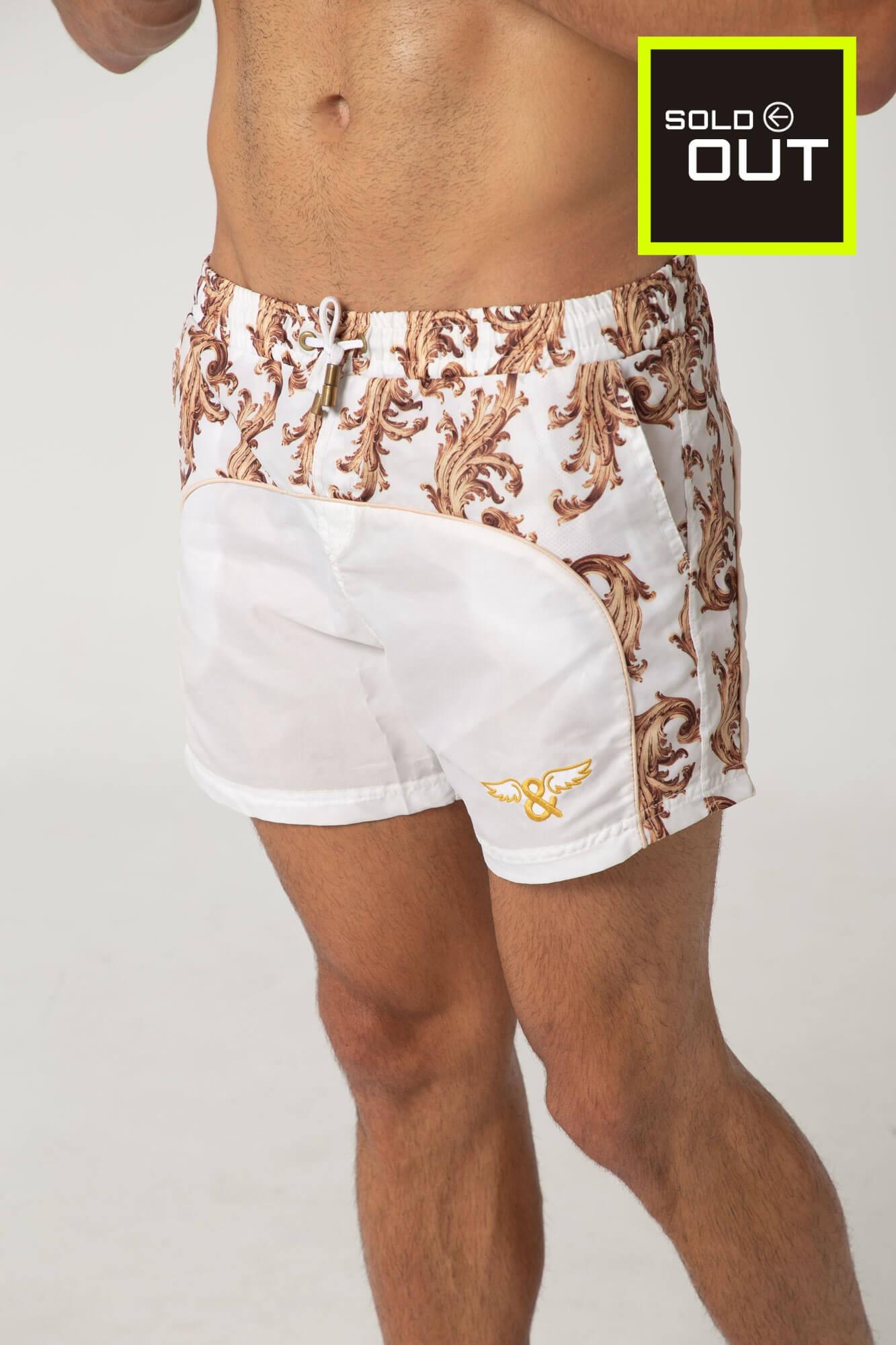 Bañador short Acanthus para hombre. Bañadores de la marca ELIU, de estilo urbano y streetwear.