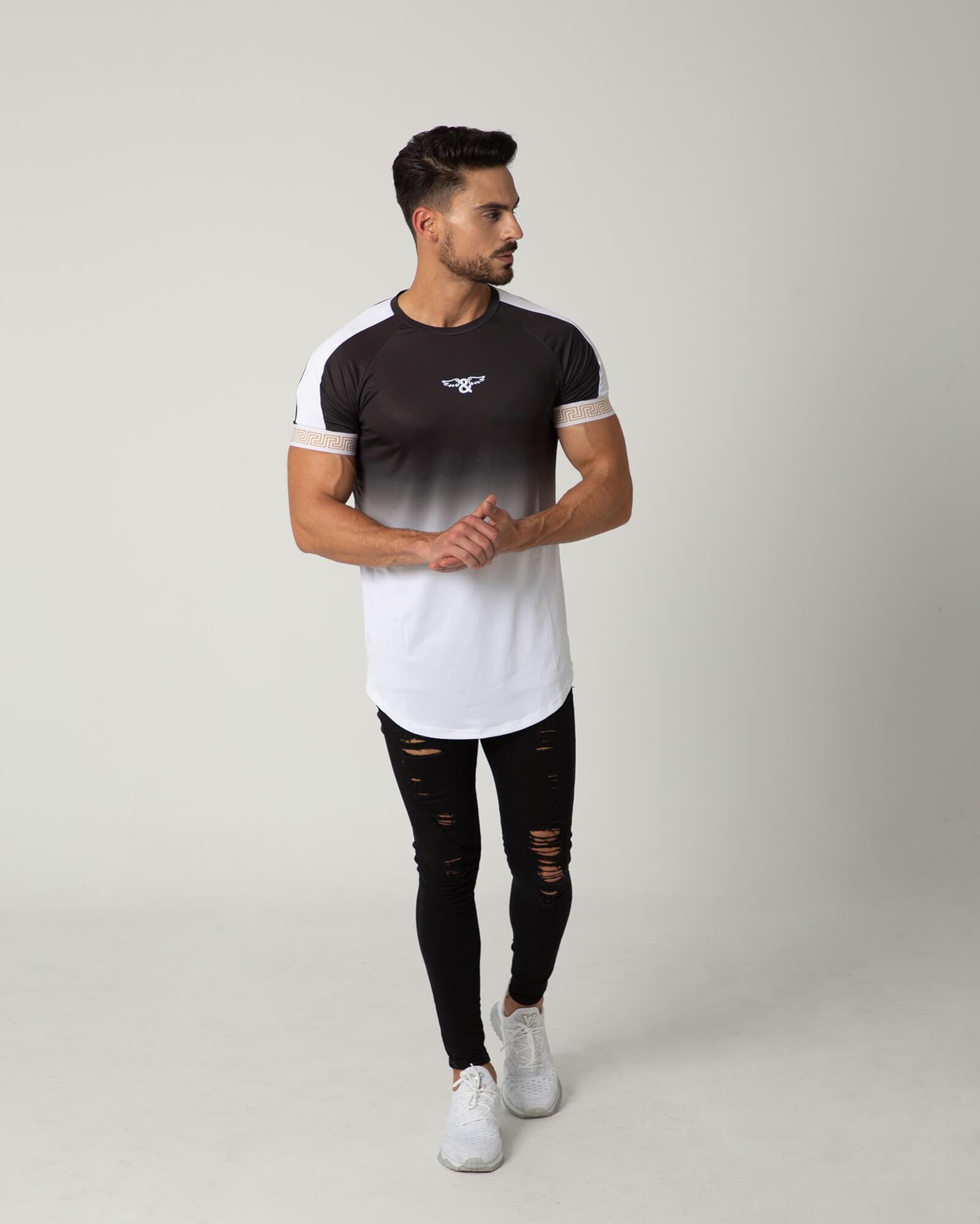 Camiseta Greek Night de la marca ELIU. Slim fit. Moda para hombres de estilo urbano ELIU streetwear.