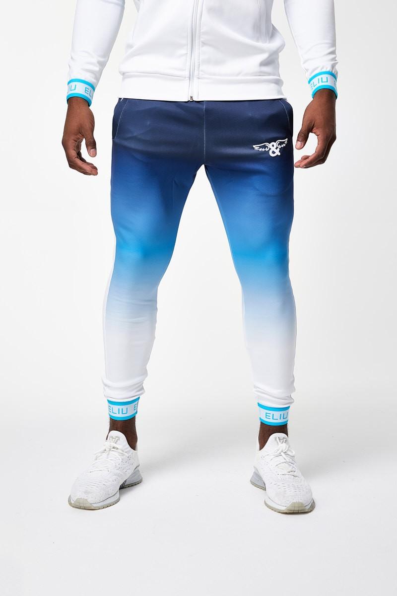 Pantalones Joggers Tricolor