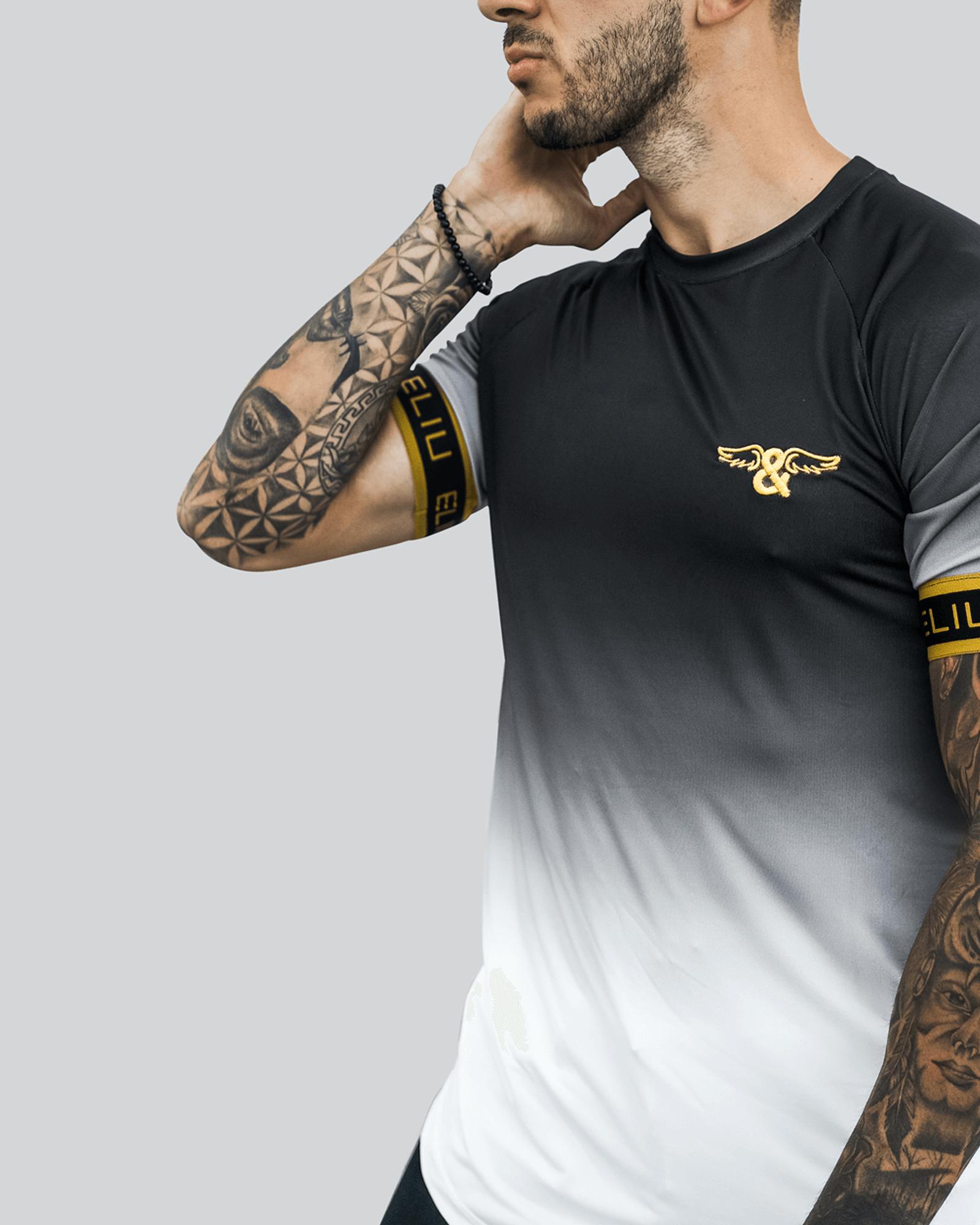 Camiseta Gradient Elastic Gold