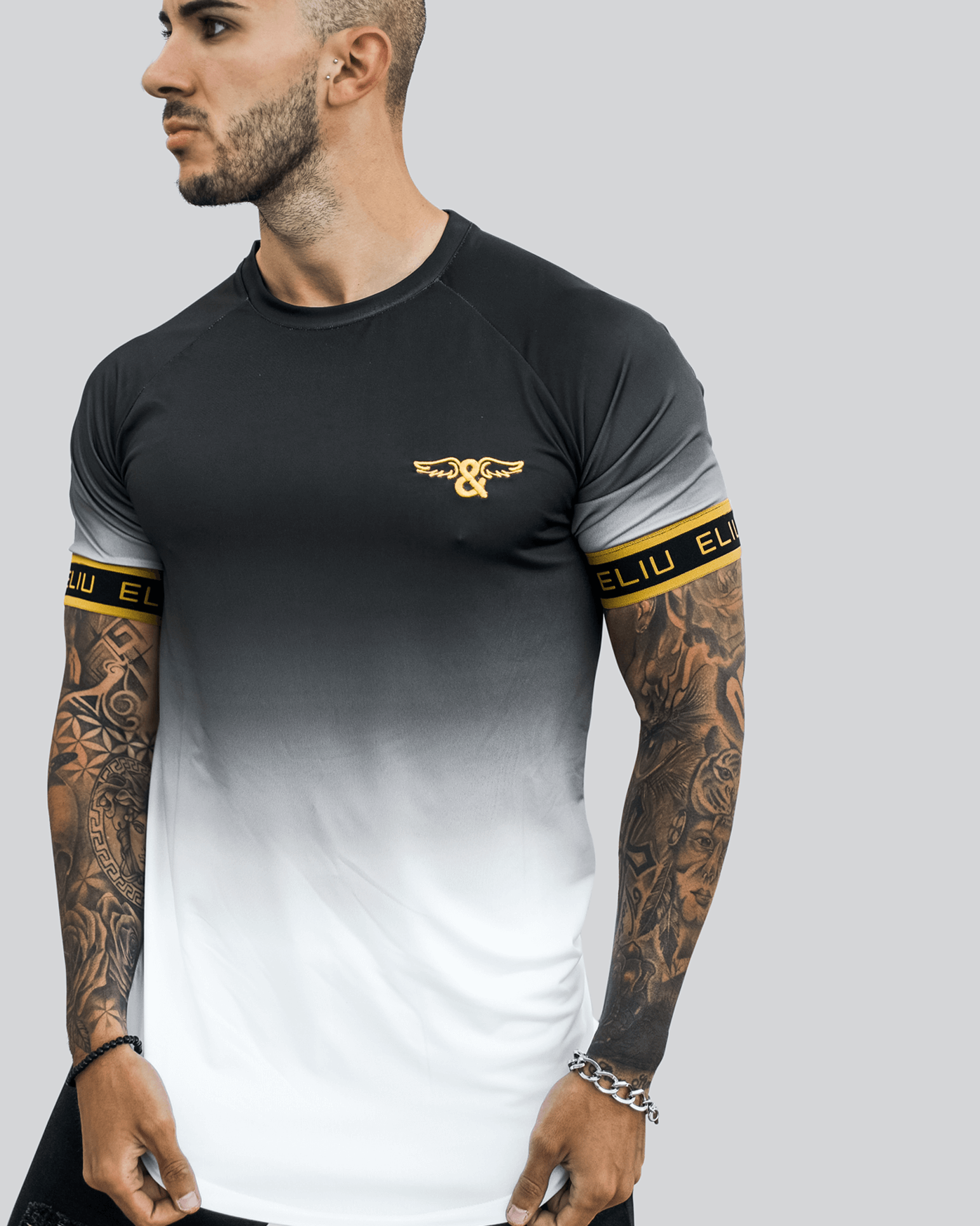 Camiseta Gradient Elastic Gold