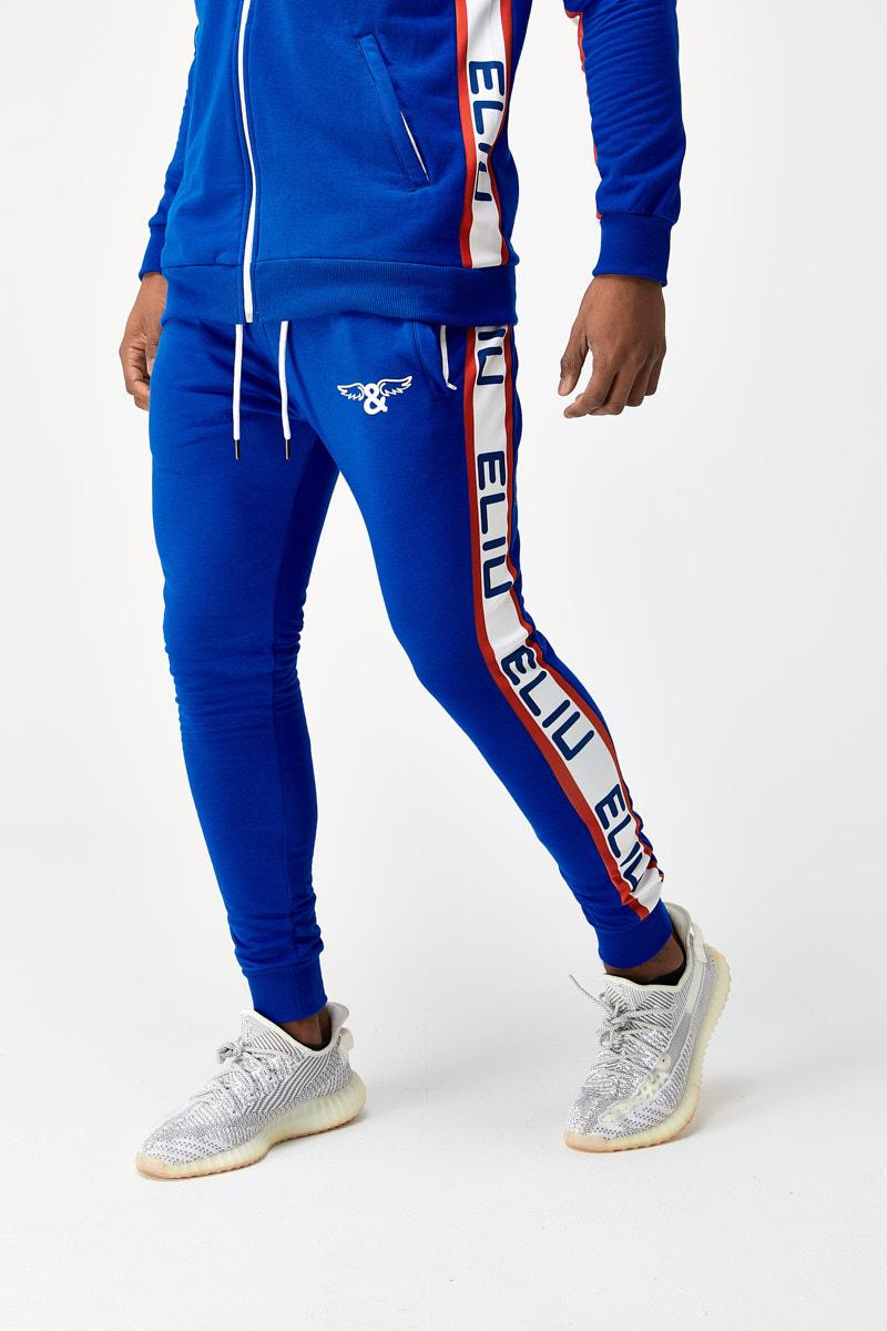 Pantalon de chandal color mar