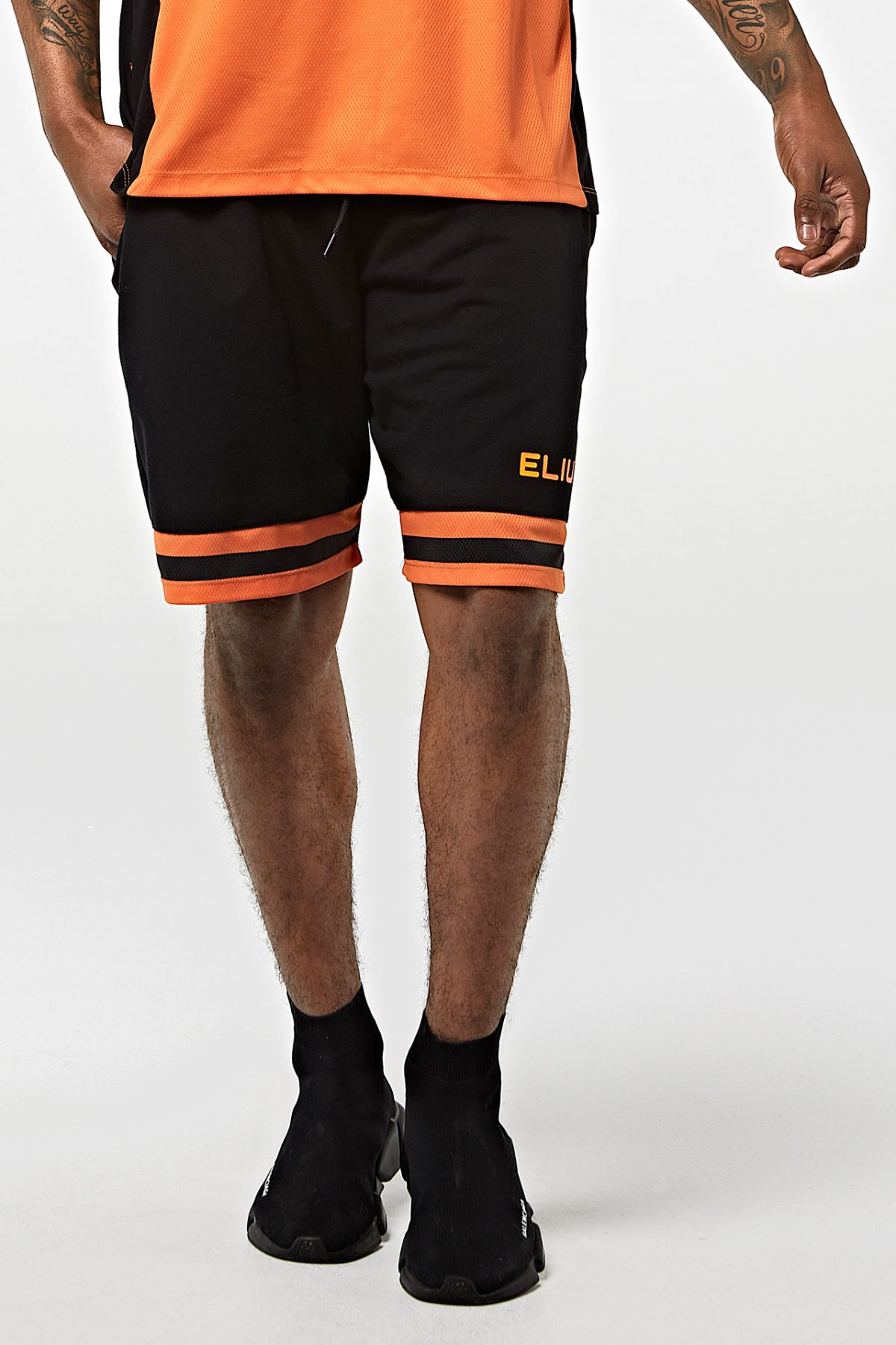 Pantalón de baloncesto ELIU 97 negro