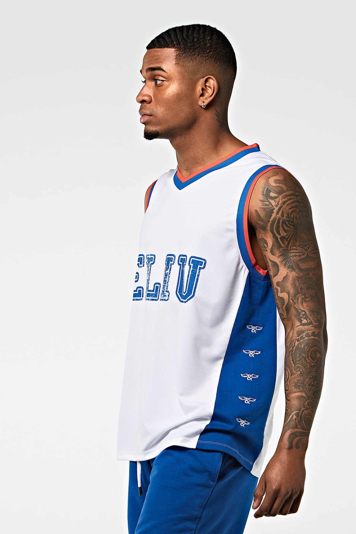 Camiseta de baloncesto ELIU 97 blanca