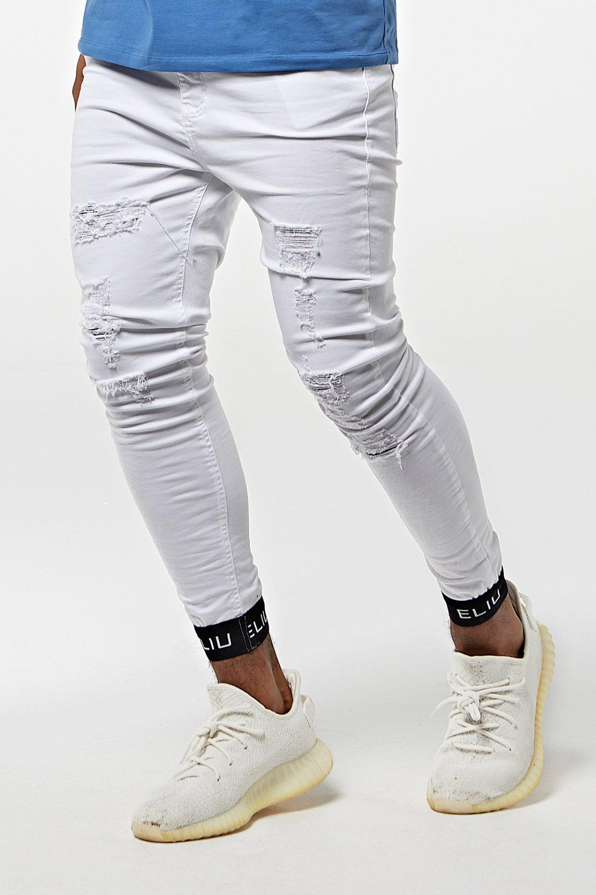 Pantalón vaquero con elástico